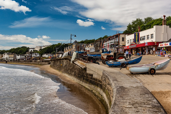 Filey Beach & Shops